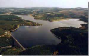 Fláje water reservoir